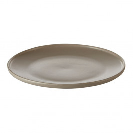 Hnedý kameninový tanier Premier Housewares Malmo, Ø 18 cm