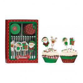 Zdobiaci set na cupcaky Premier Housewares Christmas Cupcake