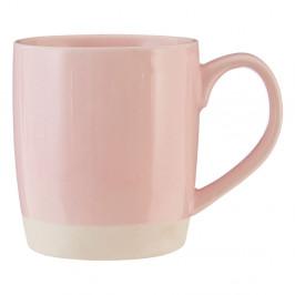 Ružový kameninový hrnček Premier Housewares, 370 ml