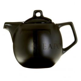 Čierna keramická čajová kanvica Premier Housewares, 500 ml
