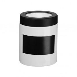 Čierno-biela dóza na popisovanie Premier Housewares
