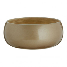 Bambusová miska v zlatej farbe Premier Housowares, ⌀20 cm