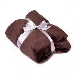 Hnedá deka Tarami, 200×150 cm