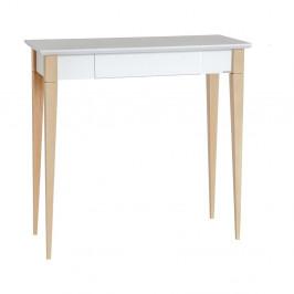 Biely pracovný stôl Ragaba Mimo, šírka 65 cm