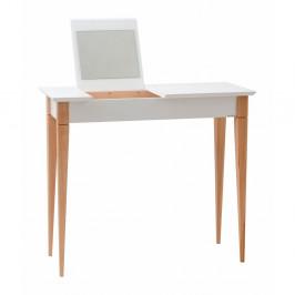 Biely toaletný stolík Ragaba Mimo, šírka 85 cm