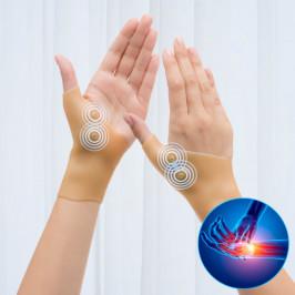 Kompresné bandáže na zápästie s magnetickými bodmi InnovaGoods (2 kusy)