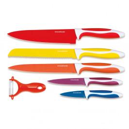 Sada 5 keramických nožov a škrabky InnovaGoods Ceramic