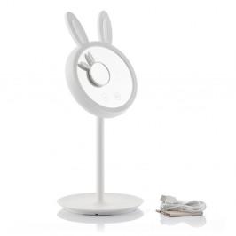 Set stolového a približovacieho zrkadla s LED osvetlením InnovaGoods Bunny