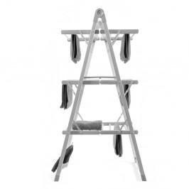 Sivý skladací elektrický stojan na prádlo InnovaGoods Clothes Airer