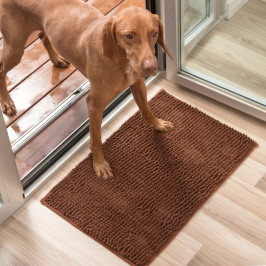 Hnedá psia rohožka InnovaGoods Pet Doormat, 85×65 cm