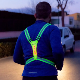 Reflexný postroj s LED svietiacimi prvkami pre športovcov InnovaGoods