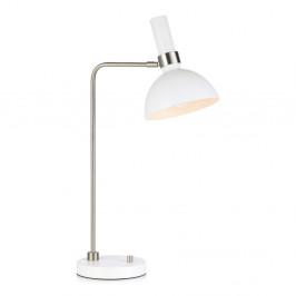 Biela stolová lampa Markslöjd Larry