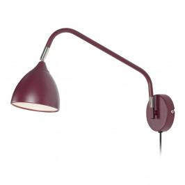 Vínovočervená nástenná lampa Markslöjd Valencia