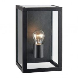 Čierne nástenné svietidlo Markslöjd Pelham