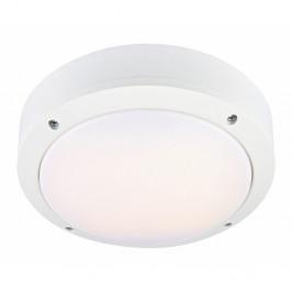 Biele stropné svietidlo Markslöjd Luna, ø 22 cm
