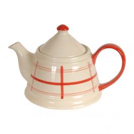 Keramická čajová kanvica Antic Line Tea Sharp
