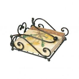 Kovový stojan na obrúsky Antic Line Servilleta