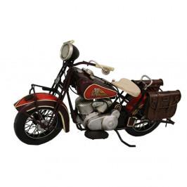 Dekoratívny skúter Antic Line Red Motocycle