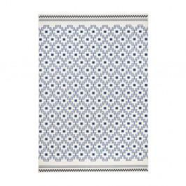 Modro-biely koberec Hanse Home Cubic, 160×230cm