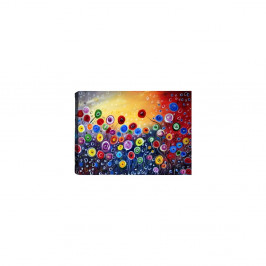 Obraz Tablo Center Surreal Flowers, 60 × 40 cm