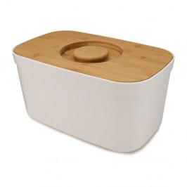 Biely chlebník s dreveným vekom Josoph Josoph Bin