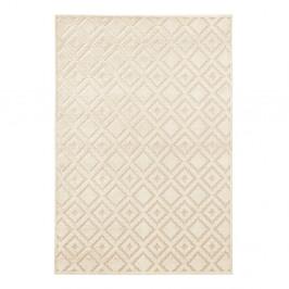 Krémový koberec Mint Rugs Shine, 80 × 125 cm