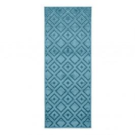 Modrý behúň Mint Rugs Shine, 80 × 250 cm