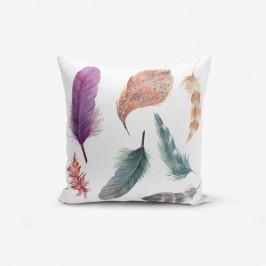 Obliečky na vaknúš s prímesou bavlny Minimalist Cushion Covers Cozy, 45 × 45 cm