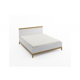Dvojlôžková posteľ z masívneho borovicového dreva SKANDICA Livia BC, 160 x 200 cm