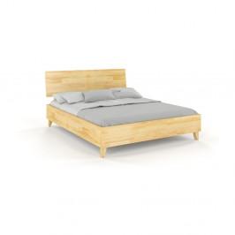 Dvojlôžková posteľ z masívneho borovicového dreva SKANDICA Viveca, 180 x 200 cm