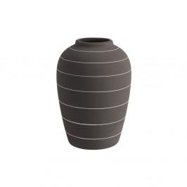 Tmavohnedá keramická váza PT LIVING Terra, ⌀ 13 cm
