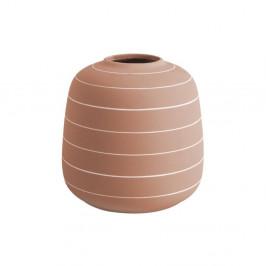Keramická váza v terakotovej farbe PT LIVING Terra, ⌀ 16,5 cm