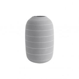 Svetlosivá keramická váza PT LIVING Terra, ⌀16cm