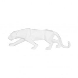 Matne biela soška PT LIVING Origami Panther