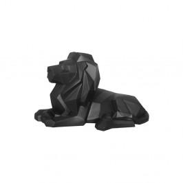 Matne čierna soška PT LIVING Origami Lion