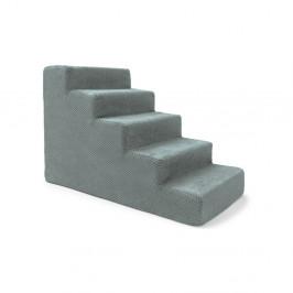 Modrosivé schody pre psov a mačky Marendog Stairs, 40 × 75 × 50 cm