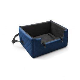 Modrá prepravná taška pre psa do auta Marendog Travel, 50 × 57 × 25 cm
