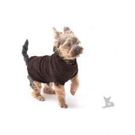 Hnedý svetrík pre psov Marendog Trip, veľ. XS
