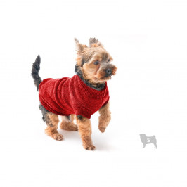 Červený svetrík pre psov Marendog Trip, veľ. S
