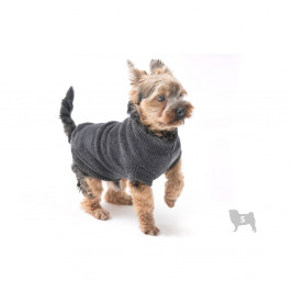 Sivý svetrík pre psov Marendog Trip, veľ. S