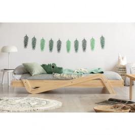 Detská posteľ z borovicového dreva Adeko Zig, 90×190 cm