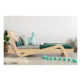 Detská posteľ z borovicového dreva Adeko Zigzag, 90×200 cm