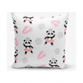 Obliečka na vankúš s prímesou bavlny Minimalist Cushion Covers Panda, 45×45 cm