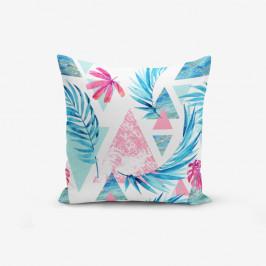Obliečka na vankúš Minimalist Cushion Covers Palm Geometric Şekiller, 45 × 45 cm