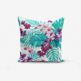 Obliečka na vankúš Minimalist Cushion Covers Lilac Flower, 45 × 45 cm