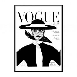 Plagát v ráme Piacenza Art Vogue, 30 × 20 cm