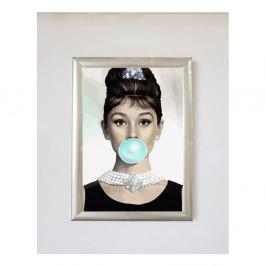 Plagát v ráme Piacenza Art Audrey Balon, 30 × 20 cm