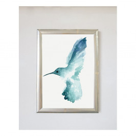 Plagát v ráme Piacenza Art Bird Left, 30 × 20 cm