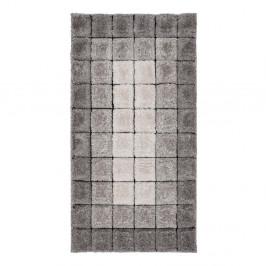 Koberec Flair Rugs Velvet 3D Cube Grey, 160×230 cm