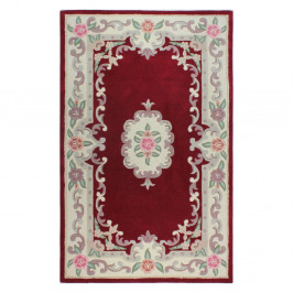 Koberec z vlny Flair Rugs Aubusson Red, 160 × 230 cm